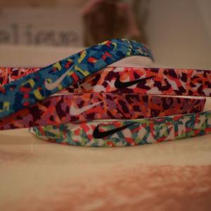Set of 4 NEW Nike Headbands